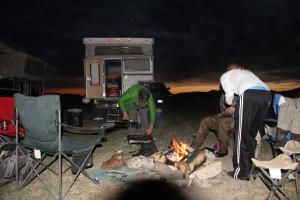 BBQ at camp never a bad idea.